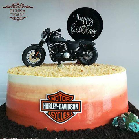 harley davidson iron 883 cake 04