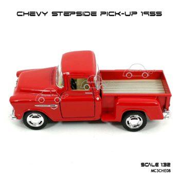 รถโมเดล CHEVY STEPSIDE PICK UP 1955 สีแดง (1:32) โมเดลสำเร็จ