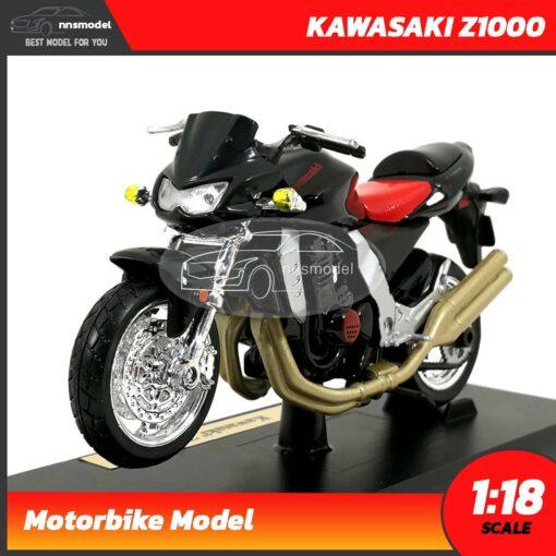 โมเดลบิ๊กไบค์ KAWASAKI Z1000 (Scale 1:18)