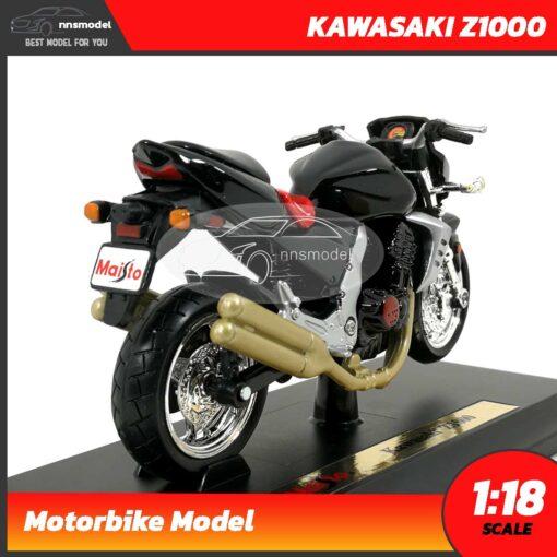 โมเดลบิ๊กไบค์ KAWASAKI Z1000 (Scale 1:18) พร้อมฐานตั้งโชว์