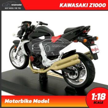โมเดลบิ๊กไบค์ KAWASAKI Z1000 (Scale 1:18) โมเดลจำลองเหมือนจริง
