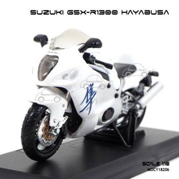 โมเดลบิ๊กไบค์ SUZUKI GSX-R1300 HAYABUSA (1:18)