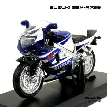 โมเดลบิ๊กไบค์ SUZUKI GSX R750 (1:18)