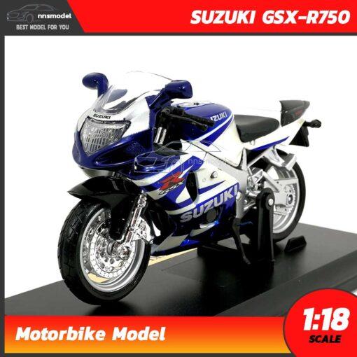 โมเดลบิ๊กไบค์ SUZUKI GSX-R750 (Scale 1:18)