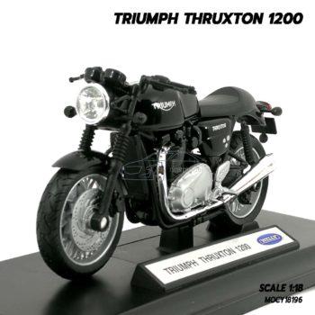 โมเดลมอเตอร์ไซด์ Triumph Thruxton 1200 (Scale 1/18)