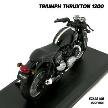 โมเดลมอเตอร์ไซด์ Triumph Thruxton 1200 (Scale 1/18) โมเดลรถจำลองเหมือนจริง