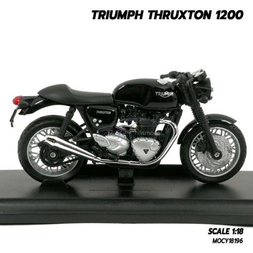 โมเดลมอเตอร์ไซด์ Triumph Thruxton 1200 (Scale 1/18) โมเดลรถคลาสสิค รุ่นขายดี
