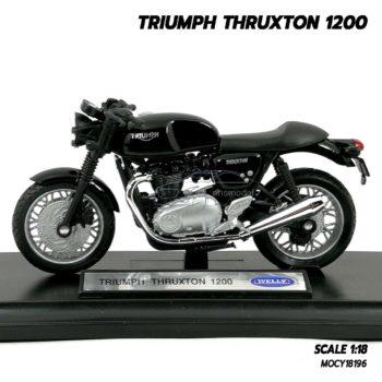 โมเดลมอเตอร์ไซด์ Triumph Thruxton 1200 (Scale 1/18) โมเดลมอเตอร์ไซด์ เท่ห์ๆ