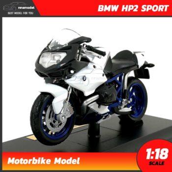 โมเดลมอเตอร์ไซด์ BMW HP2 SPORT (Scale 1:18)