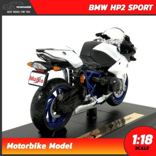 โมเดลมอเตอร์ไซด์ BMW HP2 SPORT (Scale 1:18) โมเดลบิ๊กไบค์ รุ่นขายดี
