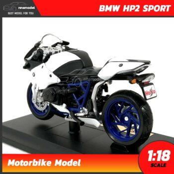 โมเดลมอเตอร์ไซด์ BMW HP2 SPORT (Scale 1:18) โมเดลบิ๊กไบค์ ประกอบสำเร็จ พร้อมตั้งโชว์