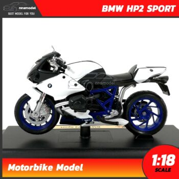 โมเดลมอเตอร์ไซด์ BMW HP2 SPORT (Scale 1:18) โมเดลบิ๊กไบค์ motorbike model