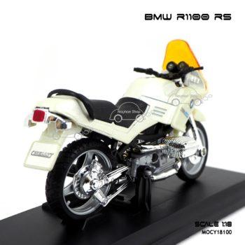 โมเดลมอเตอร์ไซด์ BMW R1100 RS สีขาวมุก (1:18)