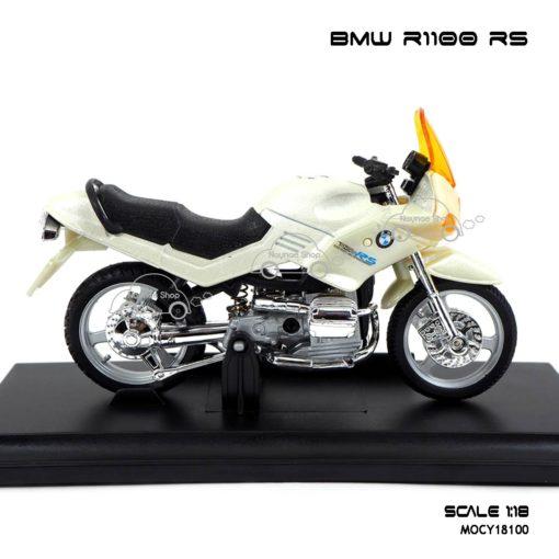 โมเดลมอเตอร์ไซด์ BMW R1100 RS สีขาวมุก (1:18) โมเดลของแท้