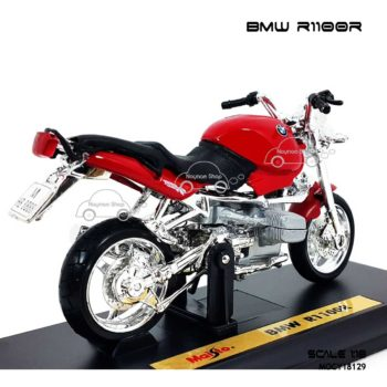 โมเดลมอเตอร์ไซด์ BMW R1100R สีแดง (1:18)