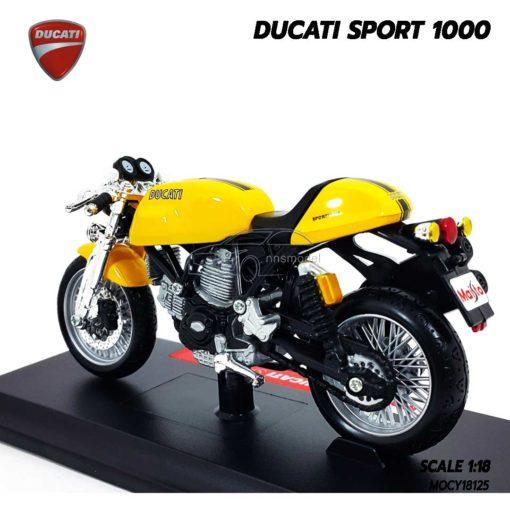 โมเดลมอเตอร์ไซด์ DUCATI SPORT 1000 (1:18) ผลิตโดยแบรนด์ Maisto