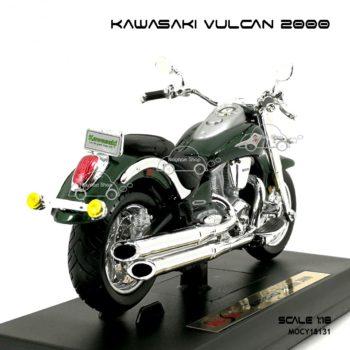 โมเดลมอเตอร์ไซด์ KAWASAKI VULCAN 2000 (1:18)