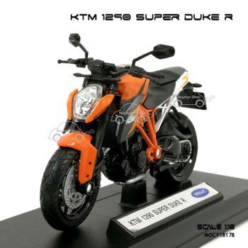 โมเดลมอเตอร์ไซด์ KTM 1290 SUPER DUKE R (1:18)