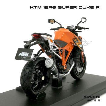 โมเดลมอเตอร์ไซด์ KTM 1290 SUPER DUKE R (1:18) ประกอบสำเร็จ