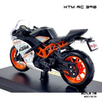โมเดลมอเตอร์ไซด์ KTM RC 390 (1:18) ประกอบสำเร็จ