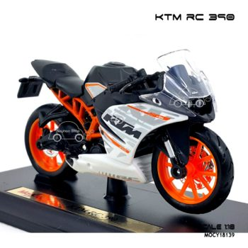 โมเดลมอเตอร์ไซด์ KTM RC 390 (1:18) รุ่นขายดี