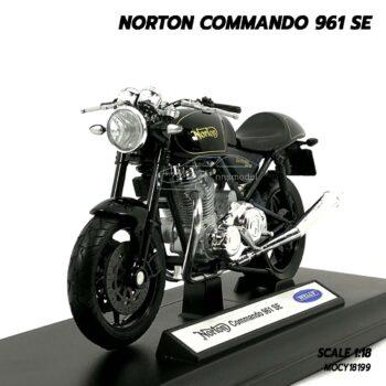 โมเดลมอเตอร์ไซด์ NORTON COMMANDO 961 SE (Scale 1:18)