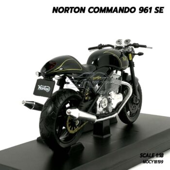 โมเดลมอเตอร์ไซด์ NORTON COMMANDO 961 SE (Scale 1:18) โมเดลรถสะสม Maisto
