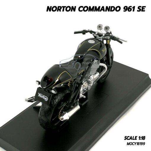 โมเดลมอเตอร์ไซด์ NORTON COMMANDO 961 SE (Scale 1:18) Motorbike Model