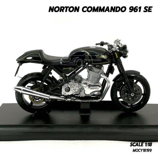 โมเดลมอเตอร์ไซด์ NORTON COMMANDO 961 SE (Scale 1:18) โมเดลมอไซด์คลาสสิค