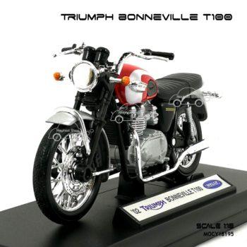 โมเดลมอเตอร์ไซด์ TRIUMPH BONNEVILLE T100