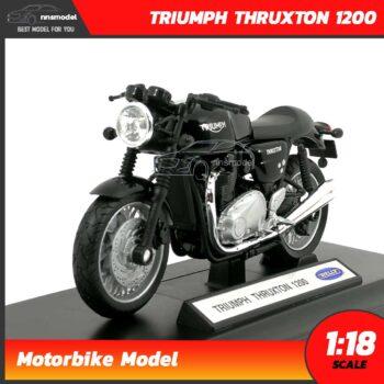โมเดลมอเตอร์ไซด์ TRIUMPH THRUXTON 1200 (Scale 1:18)