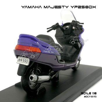 โมเดลมอเตอร์ไซด์ YAMAHA MAJESTY YP250DX 1999 สีม่วง
