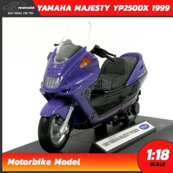 โมเดลมอเตอร์ไซด์ YAMAHA MAJESTY YP250DX 1999 (Scale 1:18)