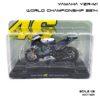 โมเดลมอเตอร์ไซด์ YAMAHA YZR-M1 World Championship 2014 (1:18)