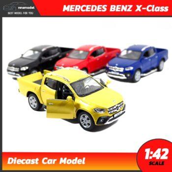 โมเดลรถกระบะ MERCEDES BENZ X-Class (Scale 1:42)