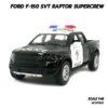 โมเดลรถตำรวจ FORD RAPTOR F150 (Scale 1:46) ฟอร์ด แร็พเตอร์