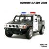 โมเดลรถตำรวจ HUMMER H2 SUT 2005 (Scale 1:40)