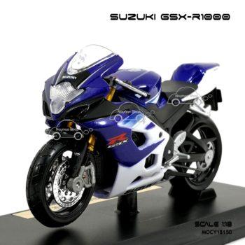 โมเดลรถบิ๊กไบค์ SUZUKI GSX R1000