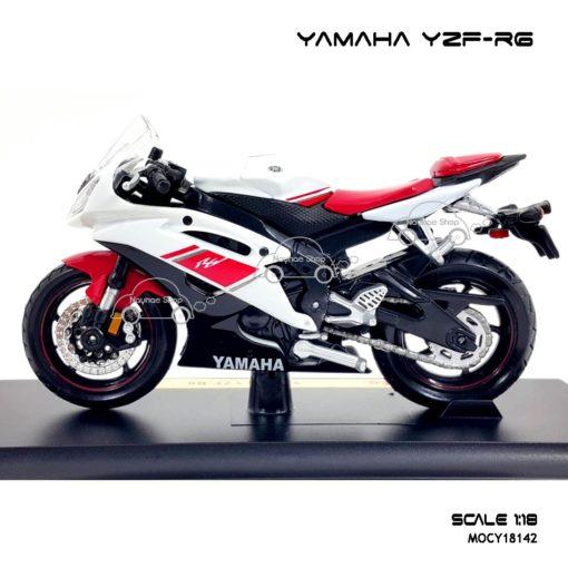 โมเดลรถบิ๊กไบค์ YAMAHA YZF-R6 (1:18)