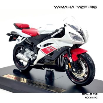 โมเดลรถบิ๊กไบค์ YAMAHA YZF-R6 (1:18) โมเดลสำเร็จ