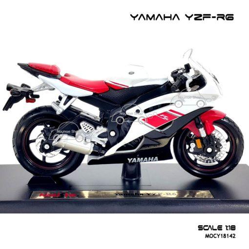 โมเดลรถบิ๊กไบค์ YAMAHA YZF-R6 (1:18) โมเดลของแท้