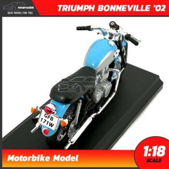 โมเดลรถมอไซด์ ไทรอั้ม TRIUMPH BONNEVILLE (Scale 1:18) Motorbike Model
