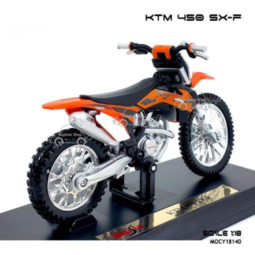 โมเดลรถวิบาก KTM 450 SX-F (1:18) ผลิตโดย maisto