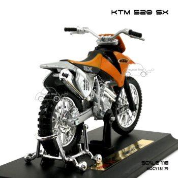 โมเดลรถวิบาก KTM 520 SX (1:18)