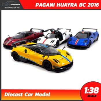โมเดลรถสปอร์ต PAGANI HUAYRA BC 2016 คาดลาย (Scale 1:38)