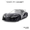 โมเดลรถสปอร์ต TOYOTA FT-1 CONCEPT สีดำ (1:32)
