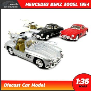 โมเดลรถเบนซ์ Mercedes Benz 300SL 1954 (Scale 1:36)