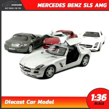 โมเดลรถเบนซ์ Mercedes Benz SLS AMG (Scale 1:36)