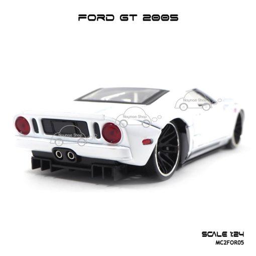 โมเดลรถเหล็ก FORD GT 2005 (1:24) ท้ายรถสวยๆ