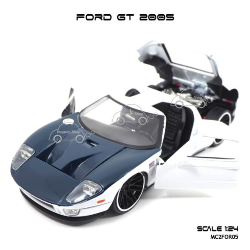 โมเดลรถเหล็ก FORD GT 2005 (1:24) โมเดลจำลองเหมือนจริง